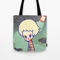 displaced person Tote Bag