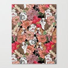 Because English Bulldog Canvas Print