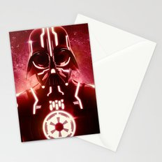Tron Vader Red Stationery Cards