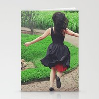 Running Free Stationery Cards