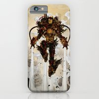 iPhone & iPod Case featuring Steamy Iron by Justin Currie