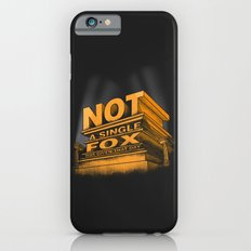 Not a single fox was given that day iPhone 6 Slim Case