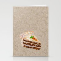 Carrot Cake Recipe  Stationery Cards