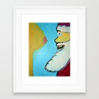 After All The Milk N' Cookies Framed Art Print