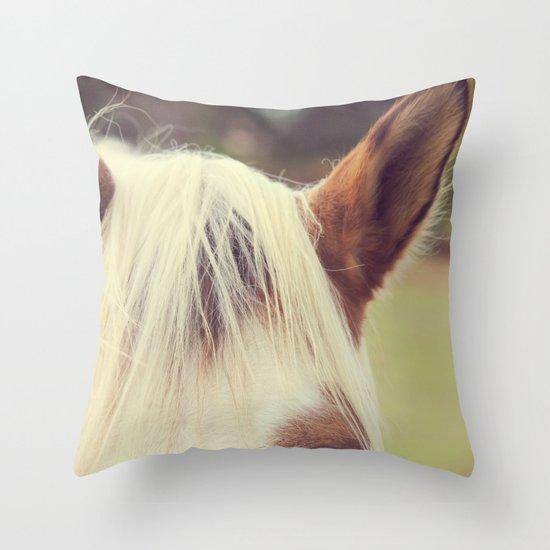 Listen Up Throw Pillow