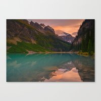 Autumn in Lake Louise Canvas Print