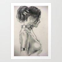 Beautiful Bondage Art Print
