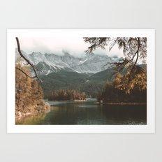 Eibsee - Landscape Photography Art Print