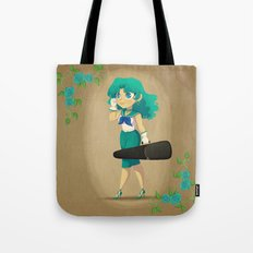 Retro Sailor Neptune Tote Bag