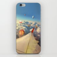 iPhone & iPod Skin featuring Clouds ,sky And Balloons… by Marozn