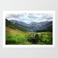 Wagon Wheel Art Print