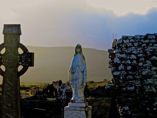 Corcomeroe Abbey, County Clare Ireland Art Print