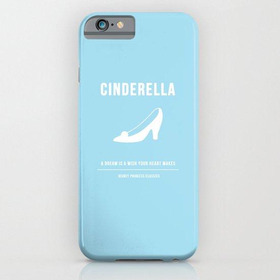Disney Princesses: Cinderella Minimalist iPhone & iPod Case