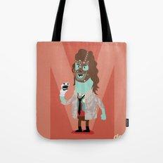 Alphabet Wrestlers - Mankind Tote Bag