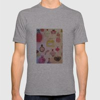 Pefume Collection Mens Fitted Tee Athletic Grey SMALL