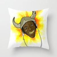 FLAYVAH Throw Pillow
