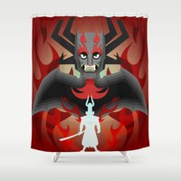 I'm the DK now samurai Jack Shower Curtain