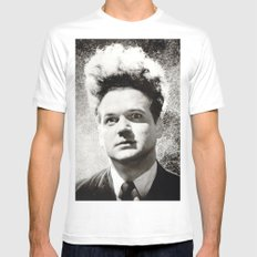 eraserhead White Mens Fitted Tee SMALL