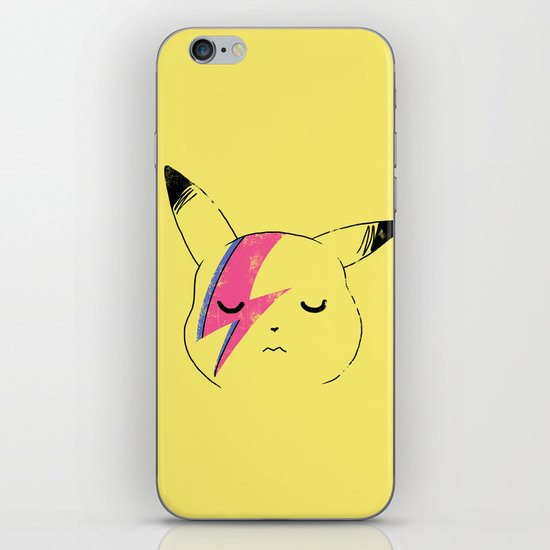 Pika Stardust iPhone & iPod Skin