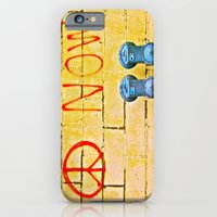 iPhone & iPod Case featuring Peace Now! by Biff Rendar