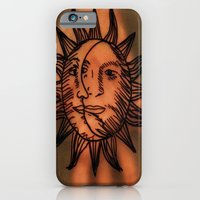 iPhone & iPod Case featuring Sun Hand. by MorningMajor