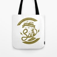 Here Comes The Son (Golden Boy Version) Tote Bag