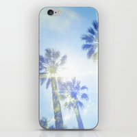 Faded Palms iPhone & iPod Skin