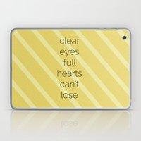 Clear Eyes, Full Hearts,… Laptop & iPad Skin