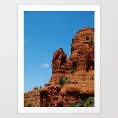 Red Rocks Art Print