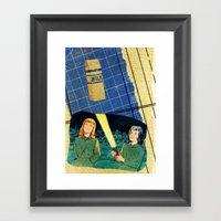 Flash Formulae Framed Art Print