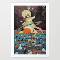 Children of the Sun and Moon Art Print