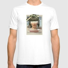 Tears In The Typing Pool | Collage Mens Fitted Tee White SMALL