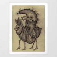 Lost Warrior Art Print