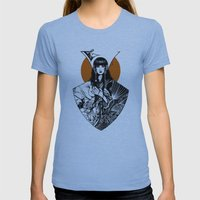 Lady Detail (alternate version) Womens Fitted Tee Athletic Blue SMALL
