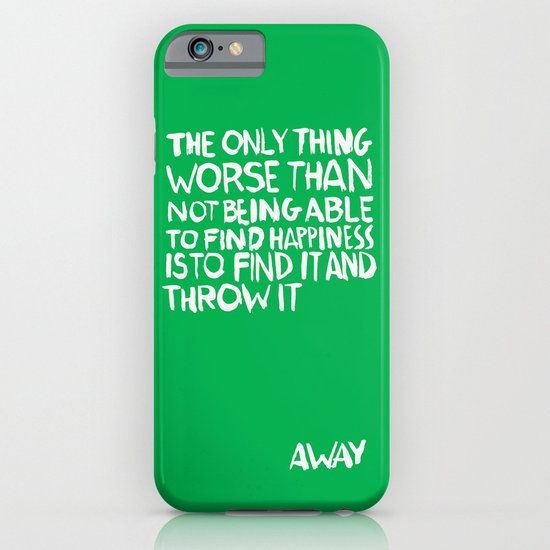 ...Away (Vers. 2) iPhone & iPod Case