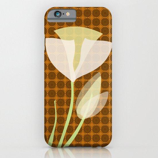 Modern Poppy Flower iPhone & iPod Case