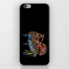 Every morning Jack plays the piano! iPhone & iPod Skin