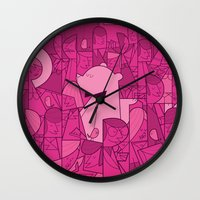 Pajama Party Wall Clock