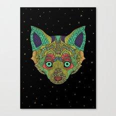Intergalactic Fox Canvas Print