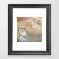 Cafe En Mexico Framed Art Print