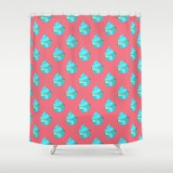 Shower Curtain featuring Cupcake by Tiffato3