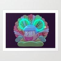 Osomatsu-san :: Electric… Art Print