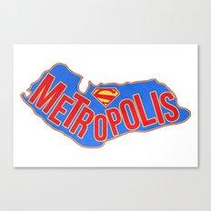Metropolis Canvas Print
