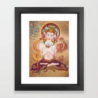 Budha Framed Art Print