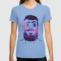 Stargazer | VACANCY Womens Fitted Tee Tri-Blue SMALL