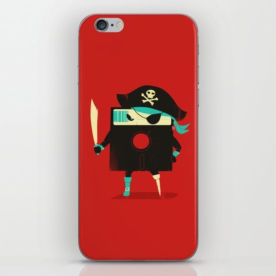 Software Pirate iPhone & iPod Skin