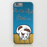 iPhone & iPod Case featuring I'm on the Fence by Thomas Gomes