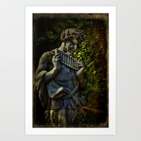 Pagan Pan Art Print