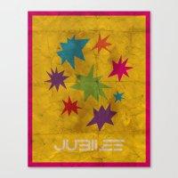 Minimalist Jubilee Canvas Print