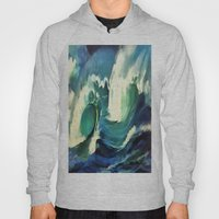 Going With The Flow Ocean Waves Hoody